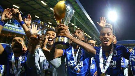 André Carrillo se proclamó campeón de la Supercopa de Arabia con el Al Hilal