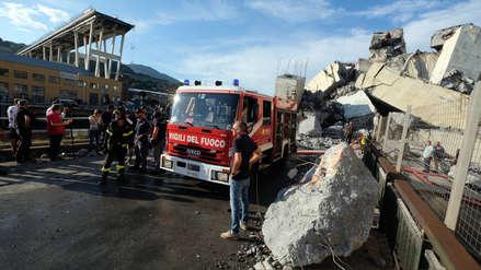 Tragedia en Génova: Se elevó a 43 el número de muertos por derrumbe de puente