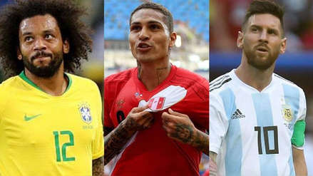 Las estrellas de Brasil, Perú y Argentina que no estarán en la fecha FIFA
