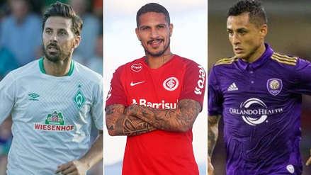 Así les fue a los futbolistas peruanos que militan en el exterior