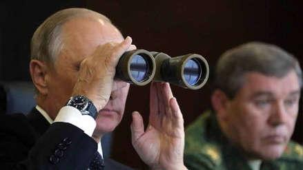 Putin puso en alerta a sus tropas a pocos días de sus mayores maniobras militares desde 1981