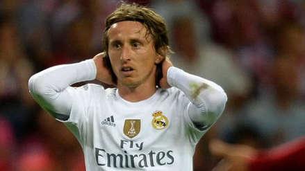 Luka Modric desmintió contacto con el Inter de Milán