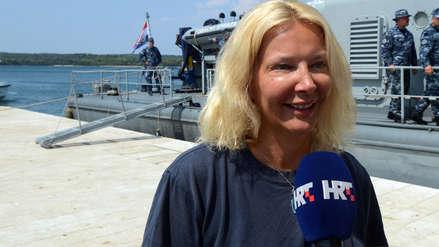 Hallan viva a una mujer que cayó de un crucero en el Mar Adriático