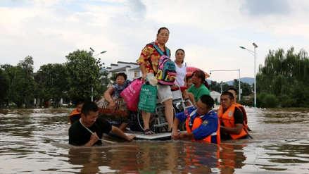 Un tifón deja al menos nueve muertos en el centro y este de China