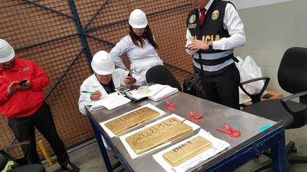 Policía Nacional incautó más de 48 kilos de oro en almacén del Callao