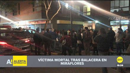 Un hombre fue asesinado en la calle Tarata de Miraflores