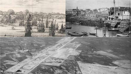 Imágenes que muestran al Callao a través de sus 182 años de historia