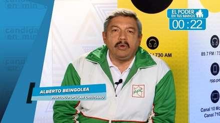 Elecciones 2018: Alberto Beingolea dio a conocer sus medidas contra la corrupción