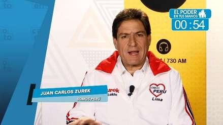 Elecciones 2018: Juan Carlos Zurek y sus propuestas en transporte y seguridad