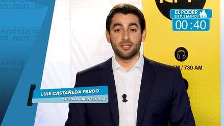 Elecciones 2018: Luis Castañeda Pardo expuso sus propuestas en transporte, educación y seguridad