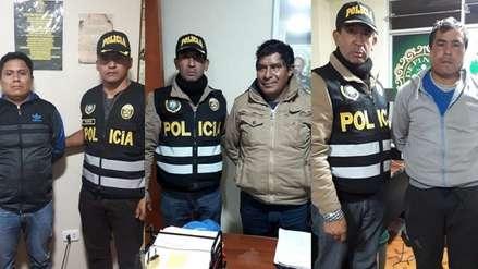 Ayacucho: capturan a cuatro personas sospechosas de financiar una emboscada de Sendero Luminoso