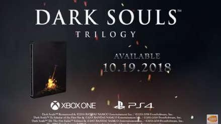 Dark Souls Trilogy es anunciado para PS4 y Xbox One