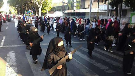 Indonesia | Una guardería pidió disculpas por video de niños disfrazados como yihadistas