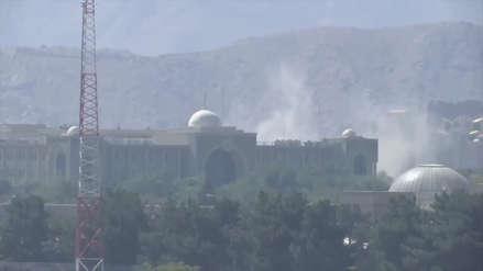 Los talibanes lanzaron un ataque con misiles en Kabul durante discurso del presidente afgano