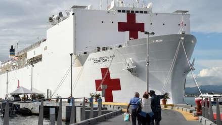 EE.UU. enviará buque hospital a Colombia por crisis migratoria venezolana