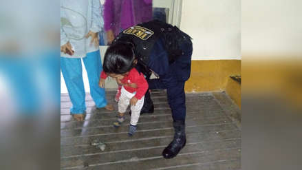 Agente edil salva a niño que se atragantó con moneda en Trujillo