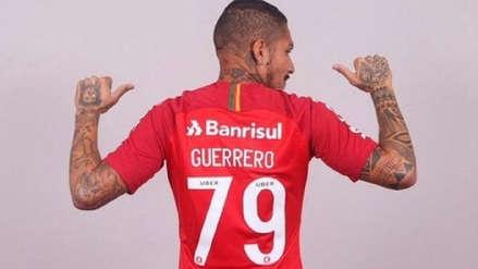 Paolo Guerrero logró récord en venta de camisetas con Inter de Porto Alegre