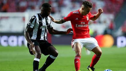 Benfica igualó 1-1 ante el PAOK por los Playoffs de la Champions League