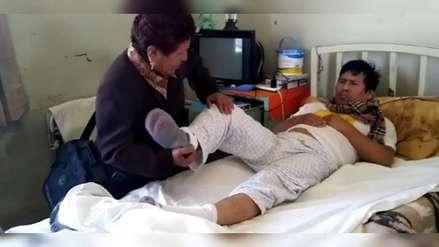 Video   Un paciente permanece 9 años internado en hospital de Arequipa