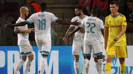 PSV Eindhoven logró remontar y derrotó al BATE Borisov en la Champions League