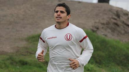Aldo Corzo volvió a los entrenamientos de Universitario tras golpe en la cabeza