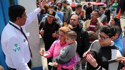 Venezolanos en Perú: