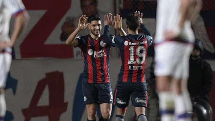 San Lorenzo venció Nacional de Uruguay por la ida de los octavos de la Copa Sudamericana