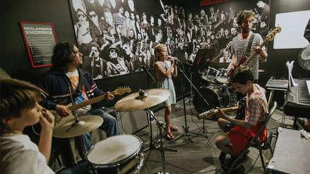 La escuela donde chicos y grandes aprenderán a ser una estrella de rock