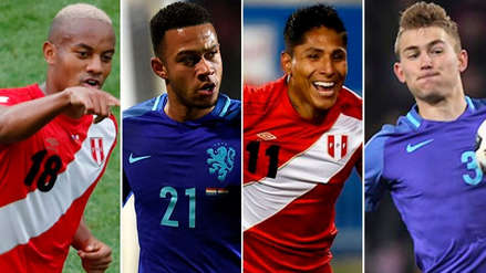 Los cinco jugadores más caros de las selecciones de Perú y Holanda