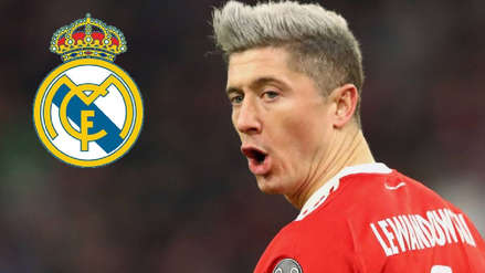 Real Madrid perdió la opción de fichar a Robert Lewandowski