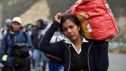 """""""Más miedo me daría tener que volver"""": La incertidumbre de los venezolanos en su camino al Perú"""