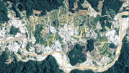 Imágenes captadas por drones muestran el impacto de la minería ilegal en Madre de Dios