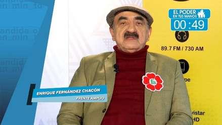 Elecciones 2018: Enrique Fernández Chacón explica sus principales propuestas en transporte