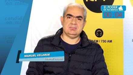 Elecciones 2018: Manuel Velarde y sus propuestas en transporte, seguridad y lucha anticorrupción