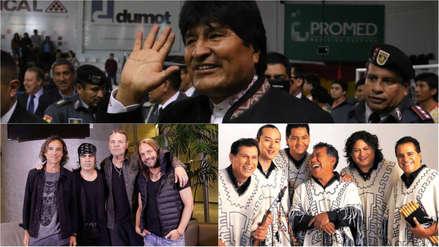 Maná y Los Kjarkas generan debate político en Bolivia por Evo Morales