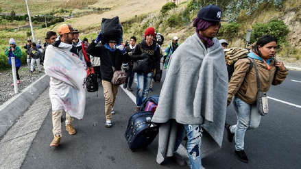 La ONU denunció nuevas restricciones en la acogida de venezolanos en Perú y Ecuador