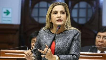 Congreso suspendió por 120 días a Maritza García