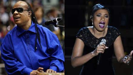 Stevie Wonder y Jennifer Hudson cantarán en el funeral de Aretha Franklin