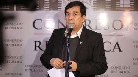 Congreso aprobó el pedido de levantamiento de inmunidad de Benicio Ríos