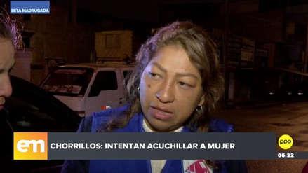 Chorrillos | Mujer denunció que hombre intentó acuchillarla en la calle