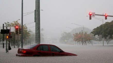 Las imágenes de los primeros estragos del huracán Lane en Hawái