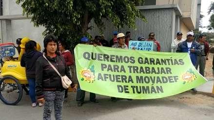 Trabajadores de empresa Tumán denuncian infiltración del Movadef en protestas