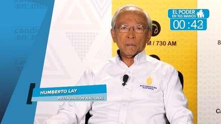 Elecciones 2018: Humberto Lay propone esto para el transporte, seguridad y lucha anticorrupción