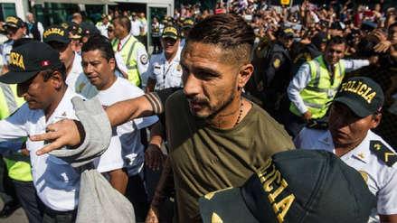 Paolo Guerrero tras llegar a Lima: