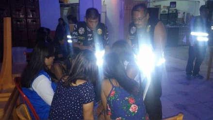 Policía rescató a 18 ciudadanas venezolanas de presunta explotación laboral y sexual en Tumbes