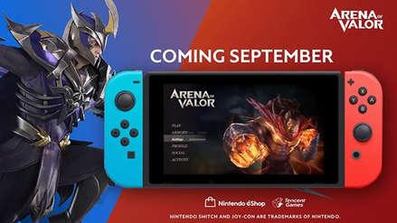 Arena of Valor no necesitará subscripción de Nintendo Switch Online