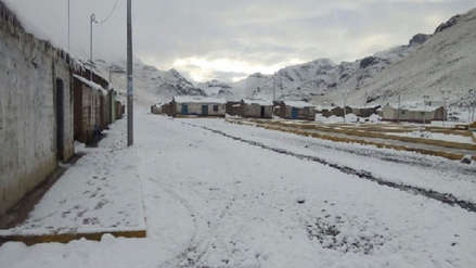 Este viernes se registró temperatura de  19.8 grados bajo cero en sector de Arequipa