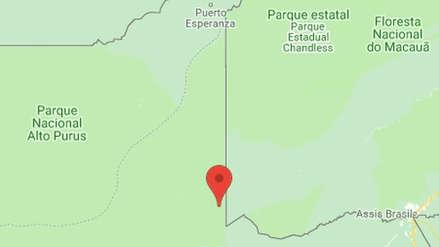Indeci sobre sismo en Ucayali: