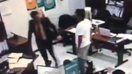 Video | Funcionario municipal es agredido por hombre que le reclamó por presunta coima