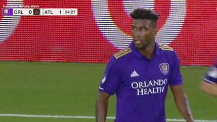 Carlos Ascues debutó con Orlando City en la caída 2-1 con Atlanta United